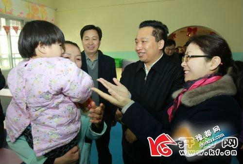 """吉炳伟到市社会福利园区看望慰问""""办好最崇高的"""