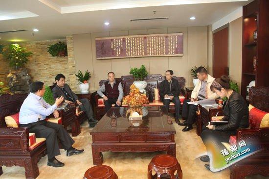 省工商联副主席韩建国等领导莅临集团考察调研