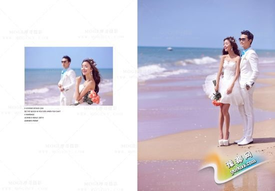 娇小女生如何拍出高挑性感婚纱照