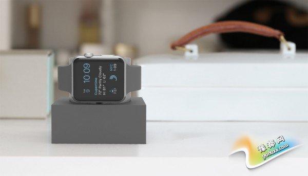 躺着/立着均可 Apple Watch外设你会买吗