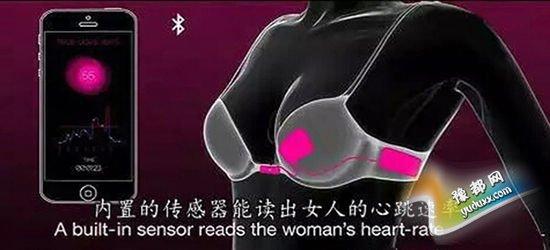 恋爱遇到高科技 日本研发遇真爱自动崩开bra